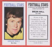 Burnley Brian Hall